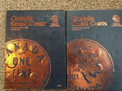 Canadian Small Cents 1920-1988 & Starting At 1989