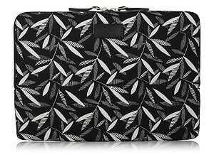 Paul Smith [Authentic & New] Black Leaf Macbook Pro Laptop / iPad Pro Sleeve