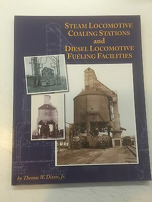 Libro Ferrovie Usa : Steam Locomotives Coaling Stations And Diesel Loc. Fueling