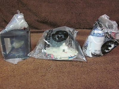 The Star Wars Trilogy Edition Taco Bell Toys R2-D2, Magic Cube, Millennium Falco