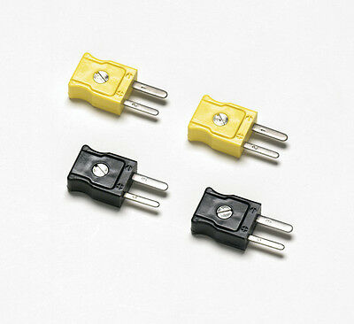Fluke 80CJ-M Type J Male Mini-Connectors for use with the Fluke 80TK or Fluke 50