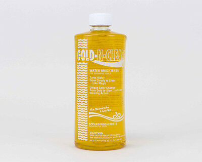 Applied Biochemists Gold-n-Clear 32oz strong swimming pool clarifier