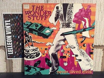 The Wonder Stuff Never Loved Elvis LP Album Vinyl Record 847252-1 Pop 90's