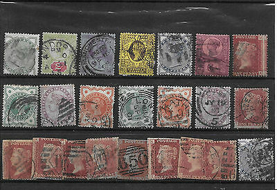 CLASSIC VICTORIAN STAMPS INC 1p RED  MISPERF PLATE 155