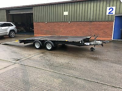 Ifor Williams LM146B - 14ft Beavertail Trailer 2014 3500 Kg 8ft Aluminium Ramps