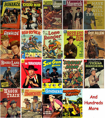 Western Comics Collection 1300 Golden Age Issues in 102 Titles on 6 DVDs