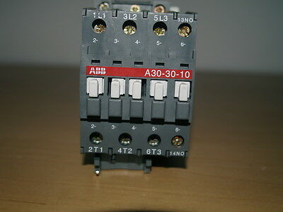Abb A30-30-10 3Pole 55A Contactor 230V Operating Coil Voltage Unused