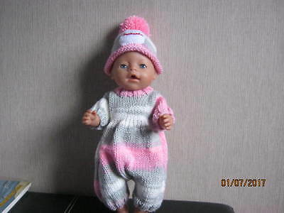 Hand made dolls clothes for Baby Born or similar.