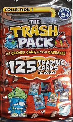 100 x The Trash Pack Trading Cards Collection 1 Giromax