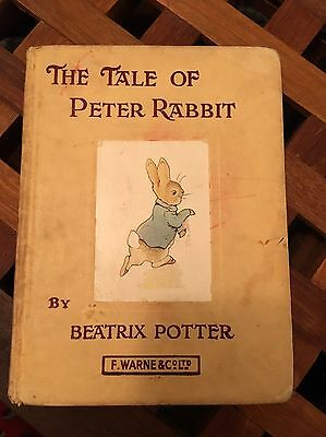 Vintage Book Of The Take Of Peter Rabbit Xmas Gift Idea