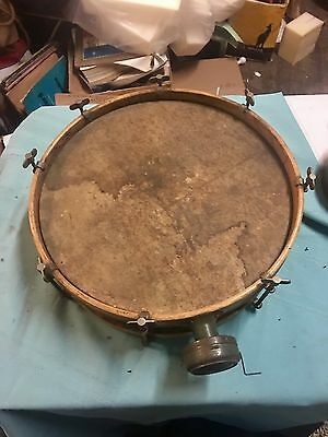 Funky Old Junk Yard Band �� Drum W/crank And Tambourine