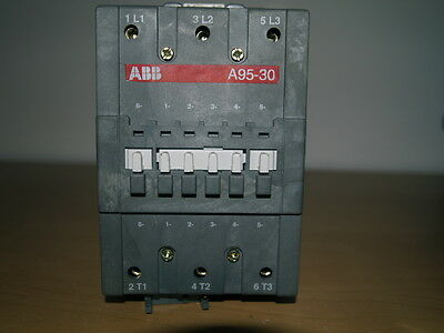 Abb A95-30 145A Ac1 45Kw Ac3 3Pole Contactor 230V Ac Coil Voltage