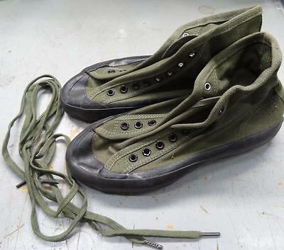 Ww2 W.a.c. Canvas O.d. Tennis / Exercise  Or Jungle Shoes -1945 -Sz 4 1/2 #eq142
