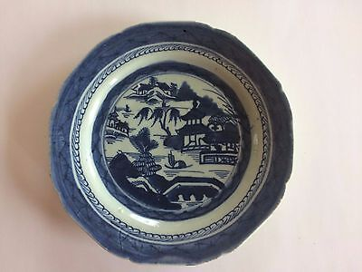 Antique Chinese Porcelain Canton Plate