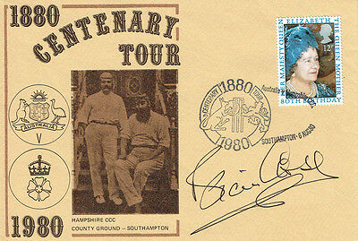 Brian CLOSE Signed Autograph Cricket 1880 Tour First Day Cover FDC COA AFTAL