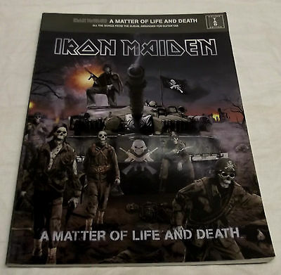 Iron Maiden Livre Partitions Pour Tablature Guitare A Matter Of Life And Death