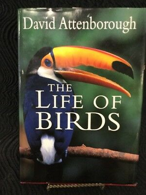 The Life of Birds by David Attenborough Hardcover Book (English)