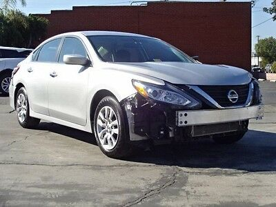 2016 Nissan Altima 2.5 Sedan 2016 Nissan Altima 2.5 Sedan Salvage Rebuilder Priced To Sell!! Only 14K Miles!!