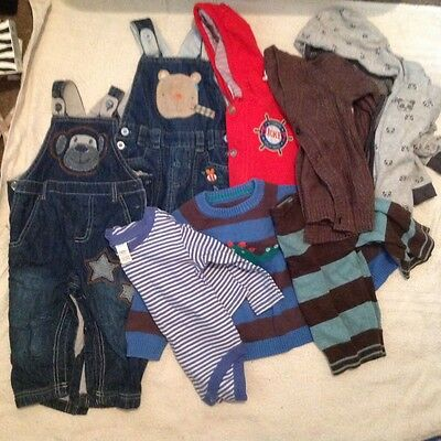 large boys 9-12 months bundle mainly next
