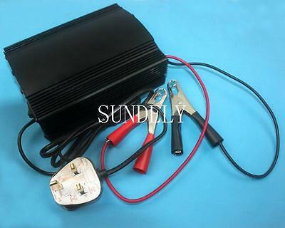 FULLY AUTOMATIC 4 STAGE MARINE BATTERY CHARGER 12V 20A New