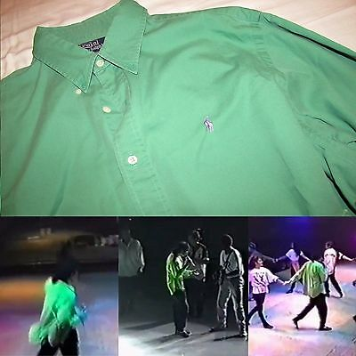Michael Jackson No Signed Worn And Personal Shirt Coa