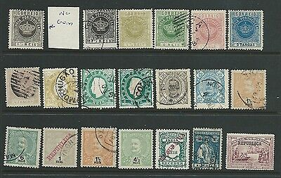 Portuguese India Interesting Lot Earlies Mh Used