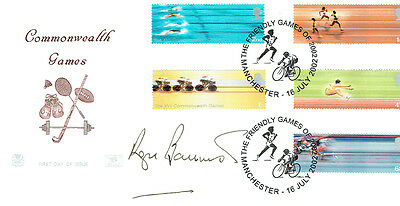 Roger BANNISTER Signed Autograph Commonwealth Games Athletics FDC COA AFTAL