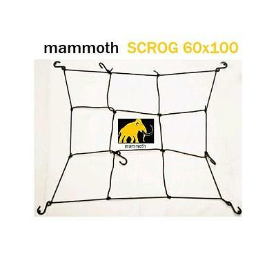 Mammoth rete SCROG 60/100cm screen net growroom coltivazione indoor sostegno g