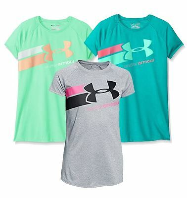 Under Armour Youth Girl's UA Fast Lane T-Shirt