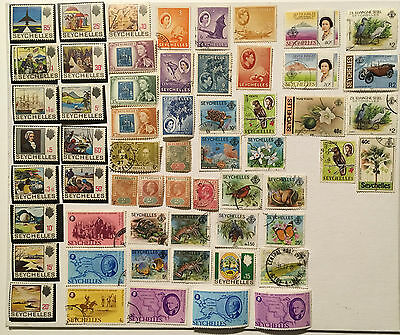 SEYCHELLES STAMPS LOT- Lot N°82 - Various Stamps