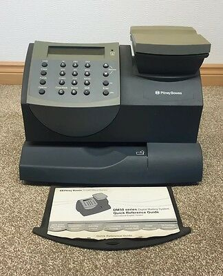 Pitney Bowes DM50 Franking Machine K721 K700 E700 Spares Or Repair Pitny Bows