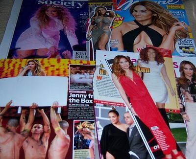 Jennifer Lopez 46 pc German Clippings Collection J. Lo Cover