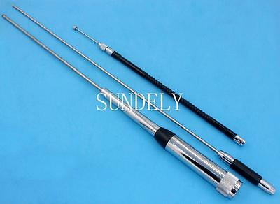 High Gain HH-9000 10/6/2M/70CM Quad-Band Excellent Mobile antenna STOCK New