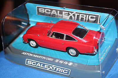 Scalextric Aston Martin DB5 Red 1965 C3722 **BRAND NEW** BOXED