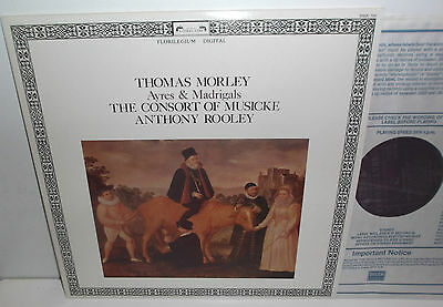 DSDL 708 Thomas Morley Ayres And Madrigals The Consort Of Musicke Anthony Rooley