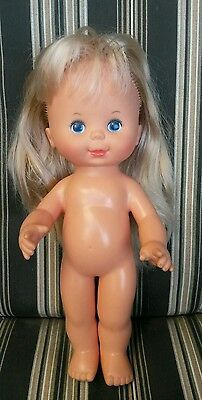 "1980 IDEAL pretty curls 12"" doll #1"