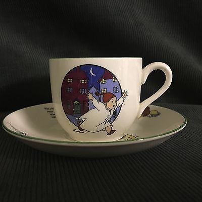 Crown Ducal Lilian Hocknell's  'nursery Ware' Cup And Saucer
