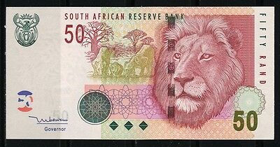 Paper Money South Africa 1992 50 rands UNC