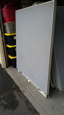 OFFICE CUBICLE WALLS, used, nice condition. Different sizes, gray and tan.