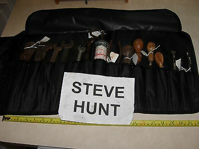 Sh Vintage Tools Tk02 Classic Car Tool Roll Kit With Af Superslim Spanners