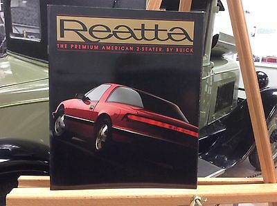 1988 Buick Reatta  24 Page Car Brochure