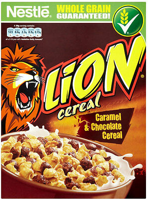 Nestle Lion Cereal 3 X 400G