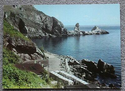 Anstey's Cove Torquay Devon - Large Postcard Unposted