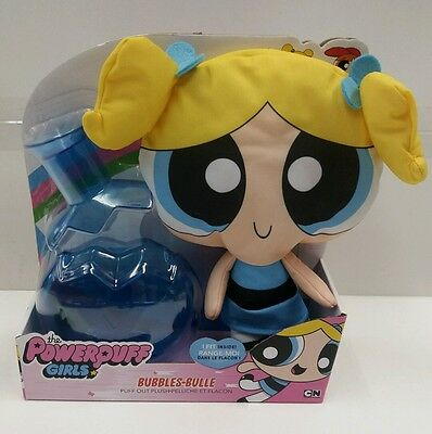 The Powerpuff Girls 12 Inch Puff Out Plush - Bubbles BRAND NEW