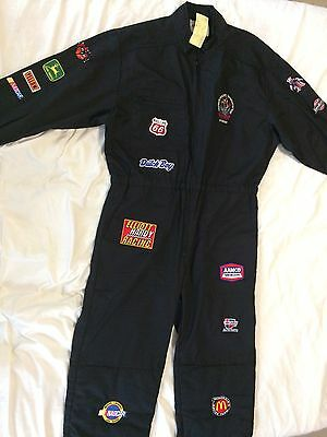 RARE Vintage Black Crowes Amorica Tour - Crew Only - Pit Racing Jumpsuit 90s NWT