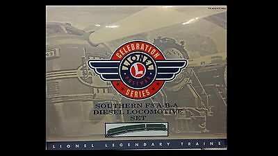 Lionel Southern F3 A-B-A  Diesels Locomotive Set 6-38188 Factory Sealed C-9