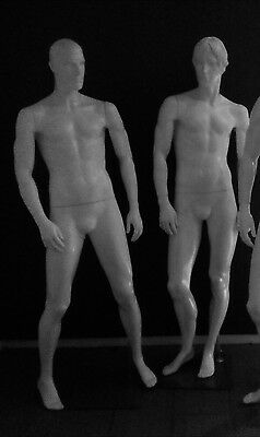 3 x Full Body Male Man Mannequins Window Display Fashion