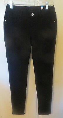 Justice Black Leggings Girls Size 16 Pants - NEW with Tags!