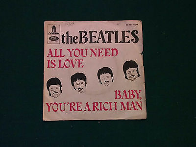 the beatles /all you need is love / 45 tours