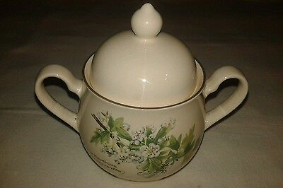 Noritake The Country Diary Of An Edwardian Lady Lidded Sugar Bowl
